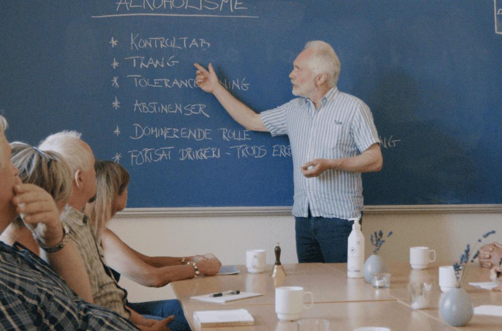 Undervisning på Tjele Orelund